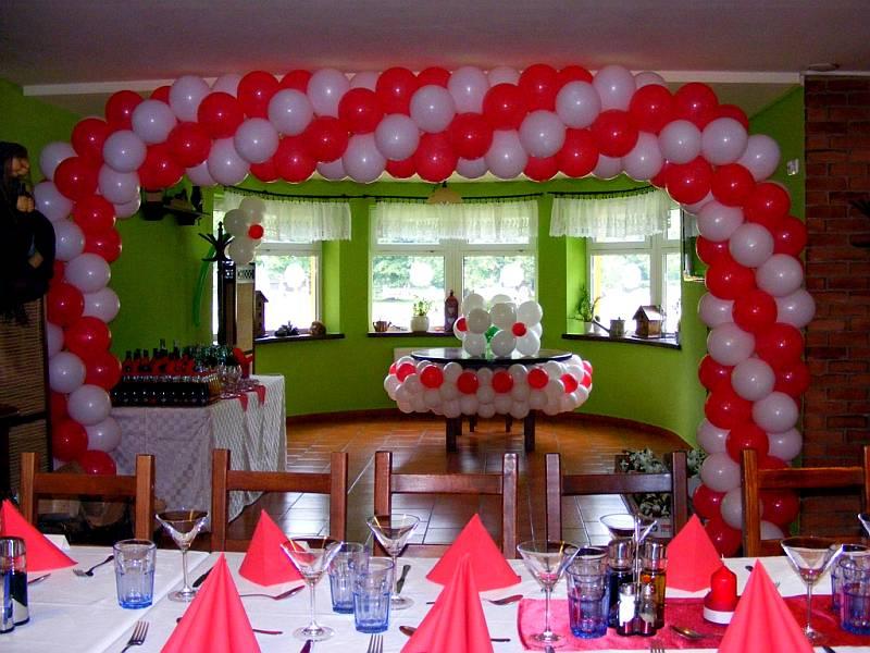 oslava narozenin výzdoba Balónková výzdoba na oslavu narozenin   Zábavné vystoupení a  oslava narozenin výzdoba